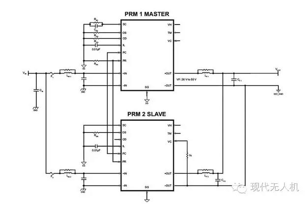 无人机电源系统设计 vicor模组化电源解决方案
